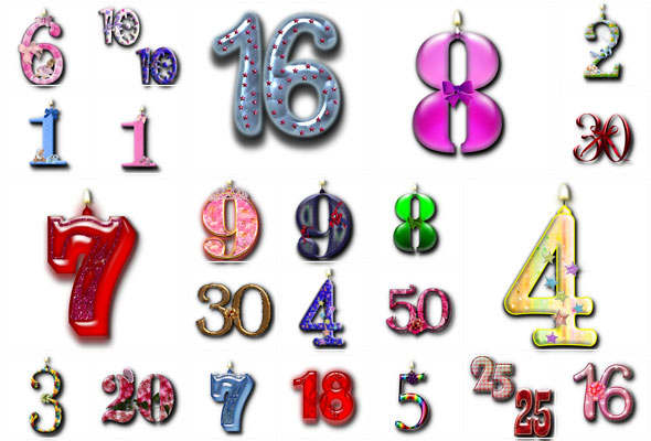 PNG.Birthday.Digits.Clipart.Transparent.1200x1200.27
