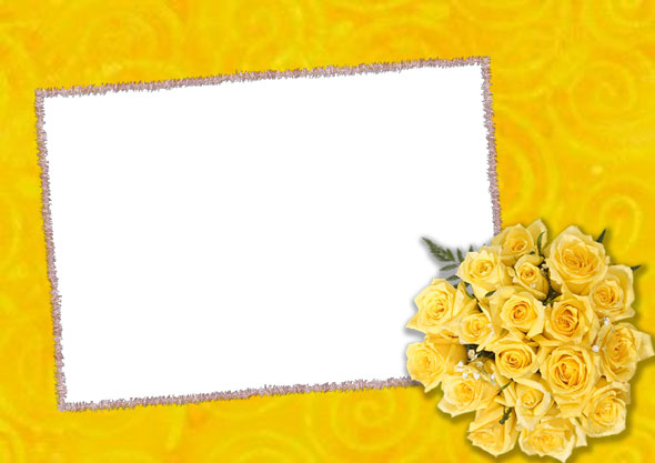 PSD.Frame.Yellow.Roses.1.3508x2480